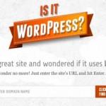 ¿Quieres saber si un sitio está hecho con WordPress?
