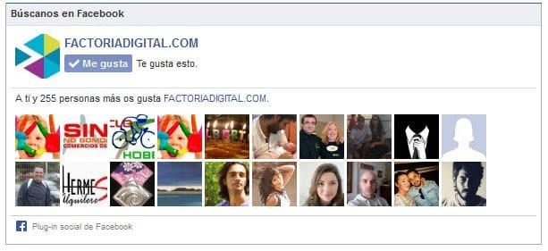¿Como colocar a tus seguidores de Facebook en un Blog de WordPress?