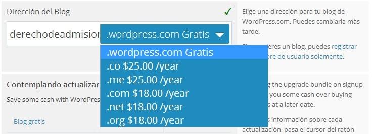 Wordpress facilmente y gratis 07