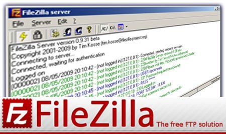 ftp-filezilla
