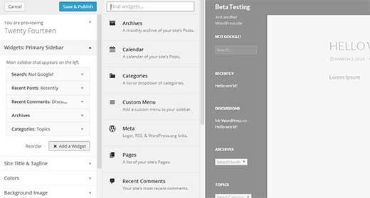 01 nuevas características de WordPress 3.9