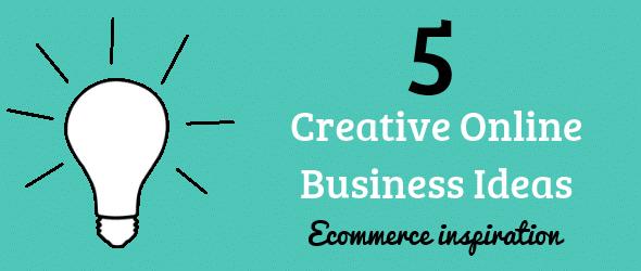 Ideas innovadoras ganadoras de un ecommerce creativo