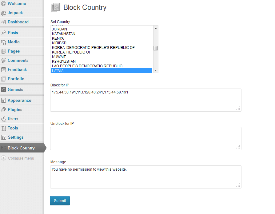 Block Country