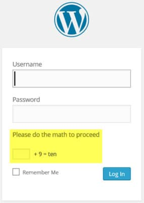 captcha para WordPress