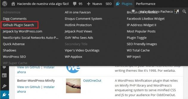 Buscar plugin para WordPress en Github 02