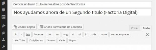 titulo secundario en WordPress 03