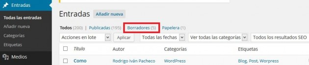 guardar en borradores de WordPress 01