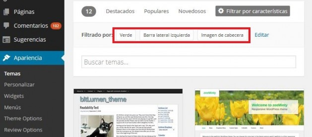 instalar Tema en WordPress 02
