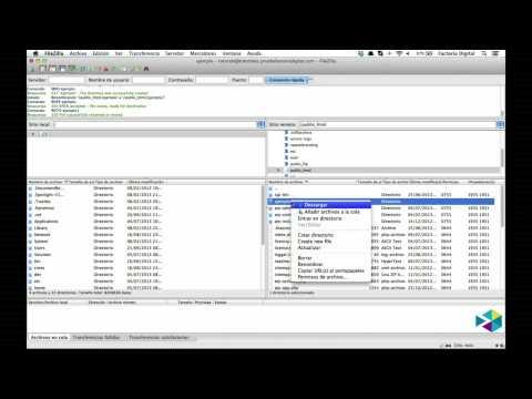 Como Administrar nuestros archivos con FileZilla