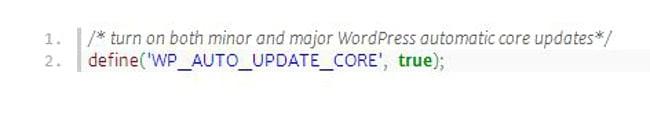 activar actualizaciones-automaticas-de-WordPress