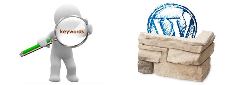 buscar palabras clave para wordpress