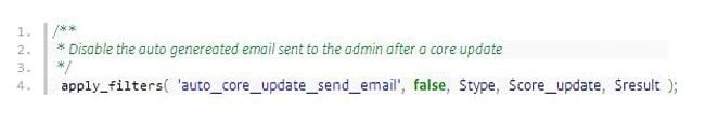 notificaciones de actualizaiones en WordPress