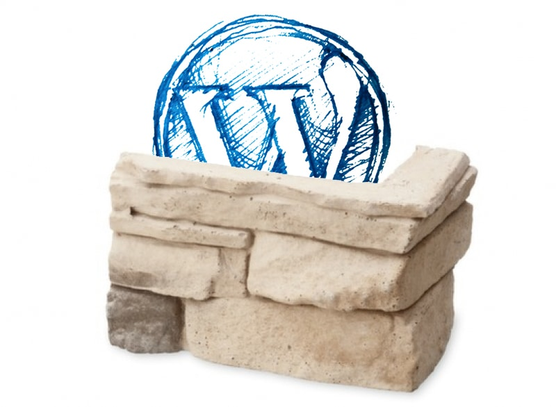 Piedra angular en WordPress