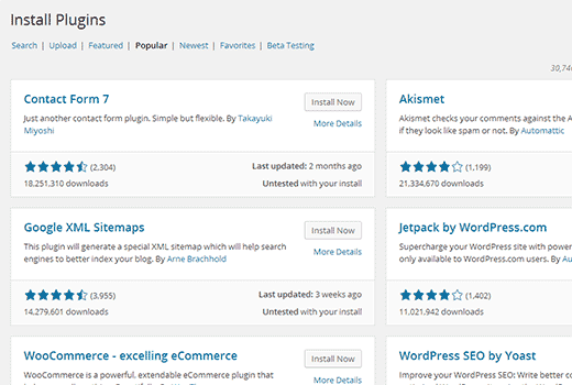 Wordpress 4.0 version beta 07