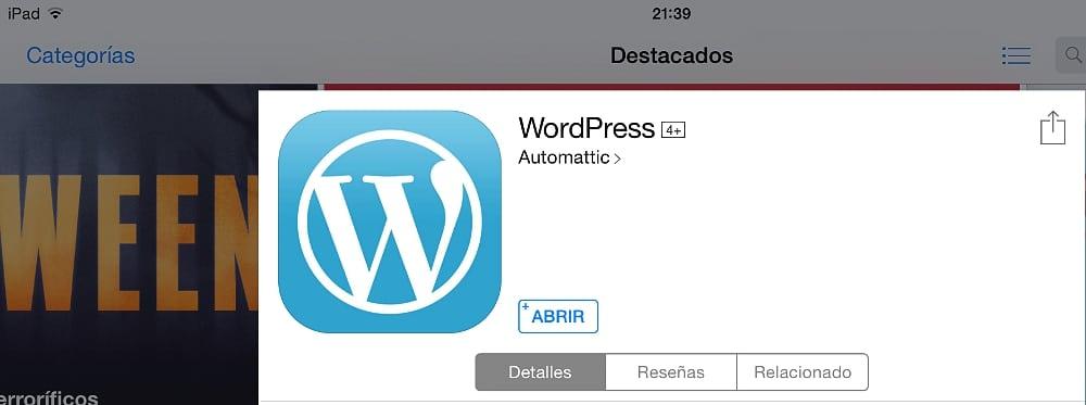 Wordpress en el iPad 02