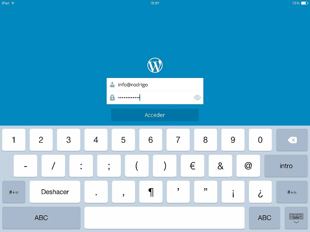 Wordpress en el iPad 05