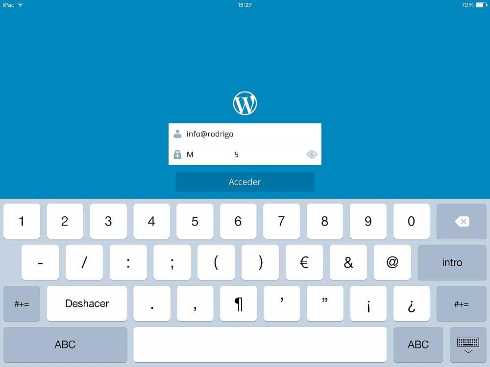 Wordpress en el iPad 06