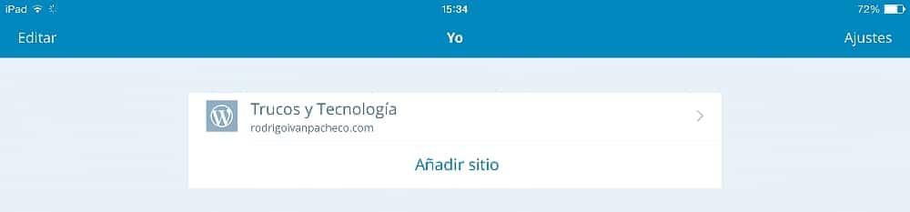 Wordpress en el iPad 14
