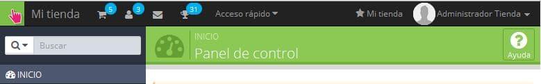 Configurar Tienda Online PrestaShop 02