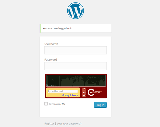 recaptcha-login-wordpress