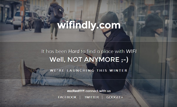 Wifindly Coming Soon Theme de Web Success