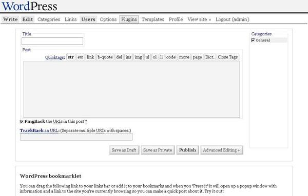 wordpress-1.2-mingus