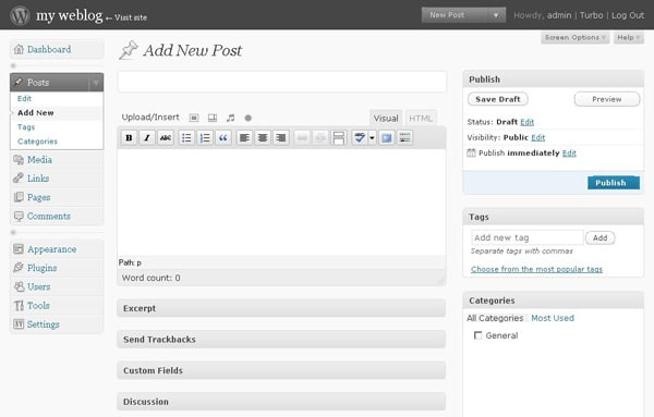 wordpress-2.7-coltrane