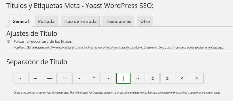 Configuracion de WordPress SEO 02