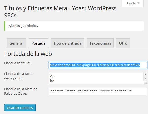 Configuracion de WordPress SEO 03