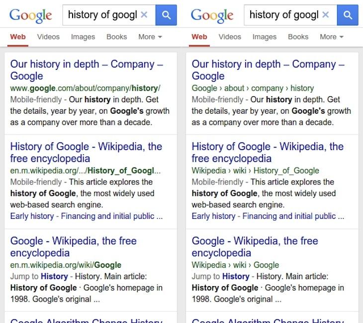 nuevo motor de Google para móviles