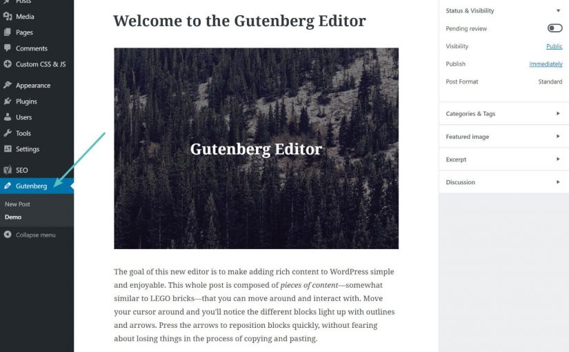 WordPress revoluciona la forma en la que actualizamos nuestros blogs con Gutenberg: el nuevo editor de texto de la plataforma