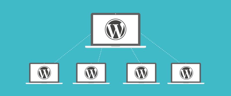 ¿Cómo puedo administrar varias páginas web en WordPress?