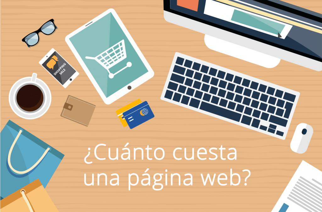 ¿Cuánto cuesta una página web en WordPress?